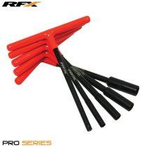 RFX Pro T-kulcs (Black/Orange) gumírozott nyéllel, KTM 8/10/12mm fejjel, 3 darabos készlet