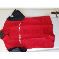 Honda racing red pro uniform shirt