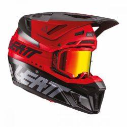 Leatt MOTO 8.5 V21.1 bukósisak, PIROS-FEKETE