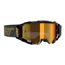 Leatt MX Velocity 4.5 FEKETE szemüveg-BRONZ LENCSE