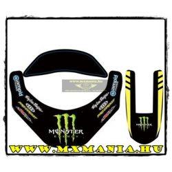 N-Style Leatt Brace Pro circiut Monster matrica