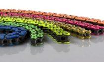 RK Takasago GB520MXZ4 120 szemes lánc narancs, kék, zöld, piros színben