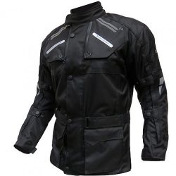 S-Tech Super Touring black motoros kabát