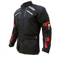 S-Tech Super Touring black-red motoros kabát