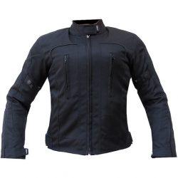 "S-Tech 4 season black-fluo motoros ""NŐI"" kabát, rövid"