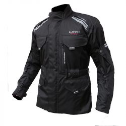 S-Tech Super Touring II. black motoros kabát