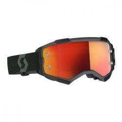 Scott Furry cross szemüveg fekete.narancs tükrős lencsével