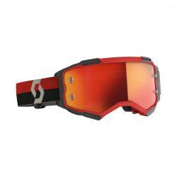 Scott Furry cross szemüveg piros-fekete pink tükrős lencsével