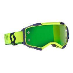 Scott Furry cross szemüveg kék-sárga zöld tükrős lencsével