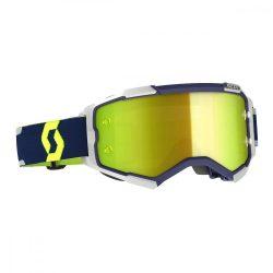 Scott Furry cross szemüveg kék-szürke sárga tükrős lencsével
