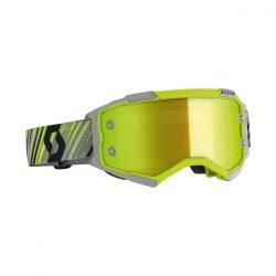 Scott Furry cross szemüveg szürke-sárga tükrős lencsével
