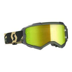 Scott Furry cross szemüveg szürke-terepmintás sárga tükrős lencsével