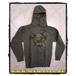 Asterisk pulover, Military Zöld