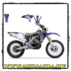 Blackbird Yamaha WRF matrica szett