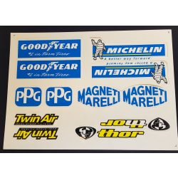 Matrica szett, Good, Michelin, Twin air