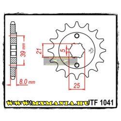 JT Sprockets első lánckerék, 1041, Kymco Atv 150 MXer