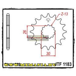 JT Sprockets első lánckerék, 1183, Triumph utcai motorokhoz