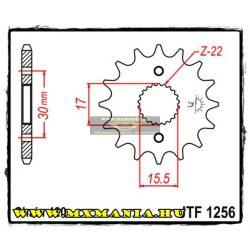 JT Sprockets első lánckerék, 1256, Honda CRF/XR/CR
