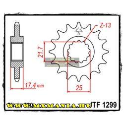 JT Sprockets első lánckerék, 1299, Honda CB/VT/VTR
