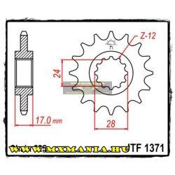 JT Sprockets első lánckerék, 1371, Honda CB/CBF/CBR