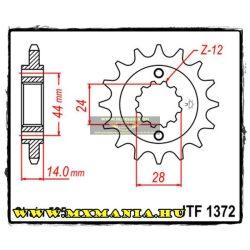 JT Sprockets első lánckerék, 1372, Honda VLX/VT