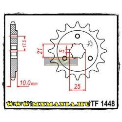 JT Sprockets első lánckerék, 1448, Suzuki DR650-800/XF600