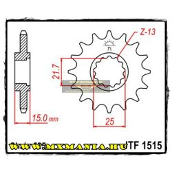 JT Sprockets első lánckerék, 1515, Kawaski ZX-6R/ZX600