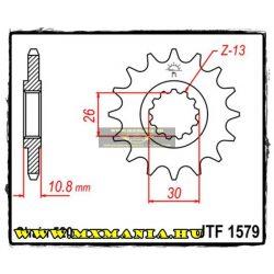 JT Sprockets első lánckerék, 1579, Yamaha FZ-1/YZF R1