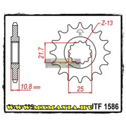 JT Sprockets első lánckerék, 1586, Yamaha YZF-R6/TDM-TRX850