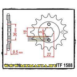 JT Sprockets első lánckerék, 1588, Yamaha XT250