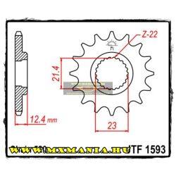 JT Sprockets első lánckerék, 1593, Yamaha YFM250