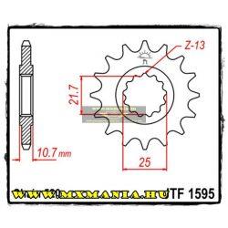 JT Sprockets első lánckerék, 1595, Yamaha FZ-6/FZ-6R/XJ6/FZ-1