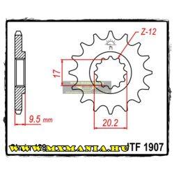 JT Sprockets első lánckerék, R 1907, KTM 85-105 - 2004-2017