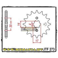 JT Sprockets első lánckerék, 273, Kawasaki KLX,Kymco,Pegeot,Suzuki