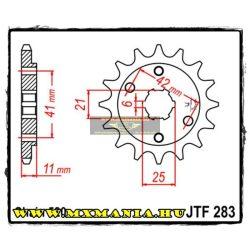 JT Sprockets első lánckerék, 283, Honda NS/NSR/VT/VTR