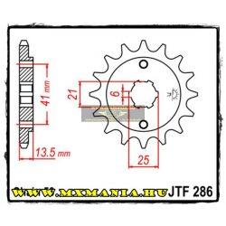 JT Sprockets első lánckerék, 286, CBR/NS/VF