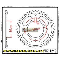 JT Sprockets hátsó lánckerék, 1219, Honda CBF125