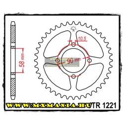 JT Sprockets hátsó lánckerék, 1221, Honda Road CBR125 R