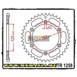 JT Sprockets hátsó lánckerék, 1258, Honda Road XR125 L