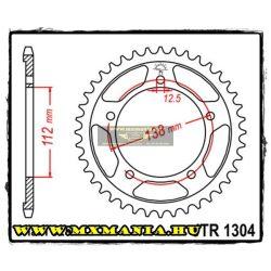 JT Sprockets hátsó lánckerék, 1304, Honda utcai motorokhoz