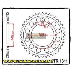 JT Sprockets hátsó lánckerék, 1311, Honda NT/NTV/VRF