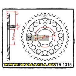 JT Sprockets hátsó lánckerék, 1315, Honda Road NSR250