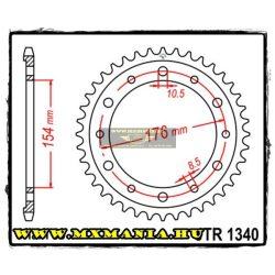 JT Sprockets hátsó lánckerék, 1340, Honda Road VFR/CB