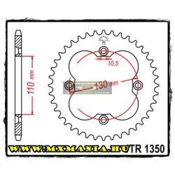 JT Sprockets hátsó lánckerék, 1350, Honda ATV TRX/ATC
