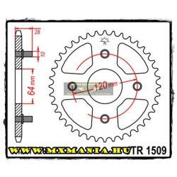 JT Sprockets hátsó lánckerék, 1509, Honda Road AX 1