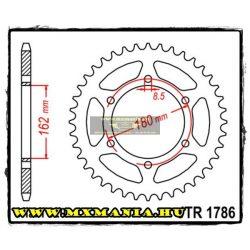 JT Sprockets hátsó lánckerék, 1786, Suzuki Off Road PE 250-400