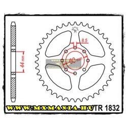 JT Sprockets hátsó lánckerék, 1832, Yamaha Road DT50 R