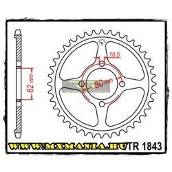 JT Sprockets hátsó lánckerék, 1843, Yamaha Off Road TT-R125
