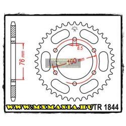 JT Sprockets hátsó lánckerék, 1844, Yamaha Road FZ-16,MT125 , YZF-R125