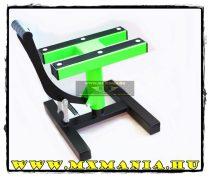 MX Works motoremelő bak, fluozöld-fekete színben